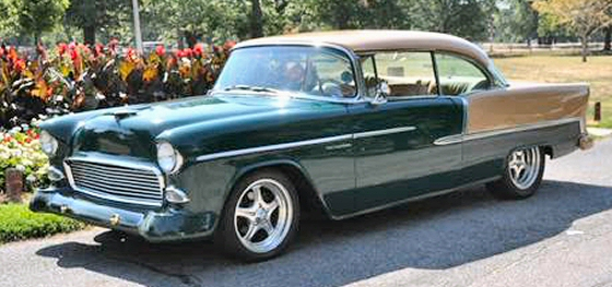 Photo of 1955 Chevrolet Bel Air Magazine Cover Car