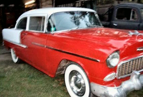 Photo of 1955 Chevy Belair 2DR Good Project