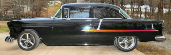 Photo of 1955 Chevy Bel Air 2 DR  Post Street Rod