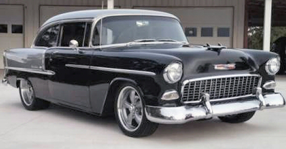 Photo of 1955 Chevrolet Bel-Air 2 Door Post Street Rod