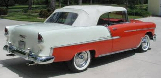 Photo of 1955 CHEVY BELAIR CONVERTIBLE RESTORED