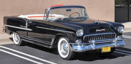 Photo of 1955 Chevrolet Bel Air Convertible Older Restoration