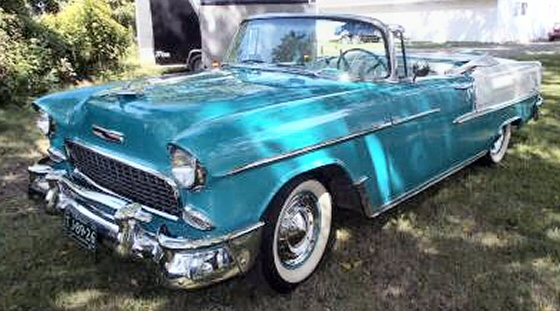 Photo of 1955 Chevrolet Bel Air Convertible Restored