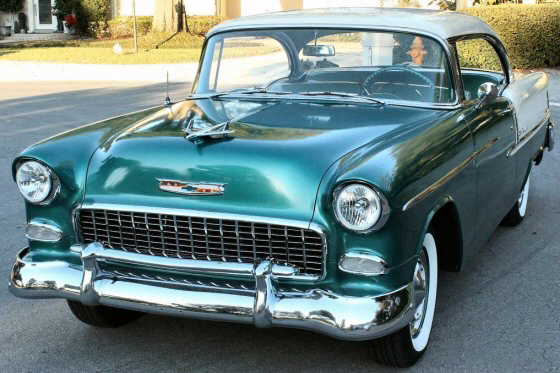 Photo of  1955 Chevy Belair Coupe Low Mileage California Car