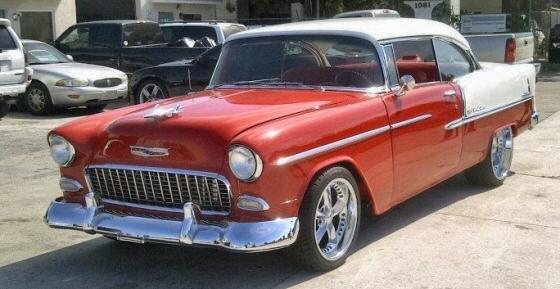 Photo of 1955 CHEVY BELAIR 2 DR HARDTOP STREETROD