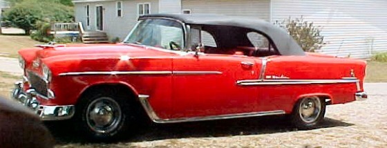 Photo of 1955 CHEVY BELAIR CONVERTIBLE STREET ROD