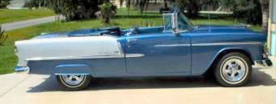 Photo of 1955 Chevy Convertible Street  Rod