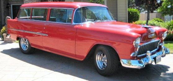 Photo of 1955 Chevrolet Handyman 2 Door Wagon Street Rod & 1955 Chevrolet Handyman 2 Door Wagon Street Rod