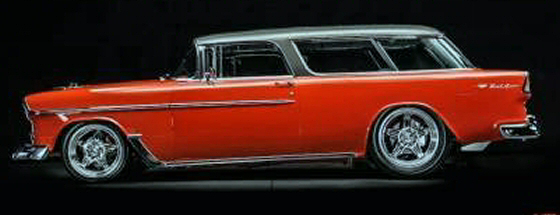 Photo of  1955 Chevrolet Nomad Wagon Custom Resto-Mod