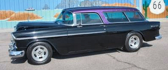 Photo of  1955 Chevrolet Nomad 2DR Stationwagon Street Rod