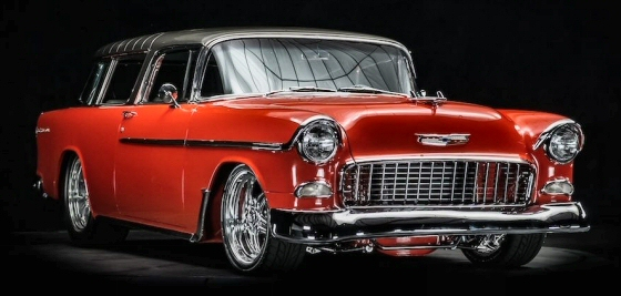 Photo of 1955 CHEVY PRO-BUILT NOMAD WAGON RESTOMOD