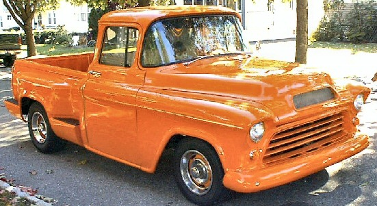 1955 Chevrolet Second Series Big Back Window Streetrod Pickup