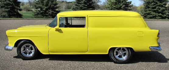 1955 Chevrolet Sedan Delivery Street Rod