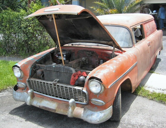 Photo of 1955 CHEVROLET SEDAN DELIVERY PROJECT