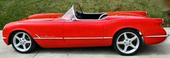 Photo of 1955 CHEVY CORVETTE RESTRO ROD CONVERTIBLE