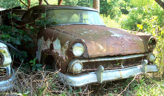 1955 Ford Crown Victoria project car