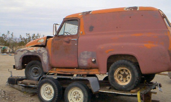 1955 Ford F-150 - Panel Truck, Great project.