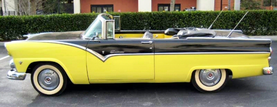 Photo Of 1955 Ford Fairlane Convertible