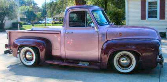 Photo of 1955 FORD PICK UP ROD ALL FORD