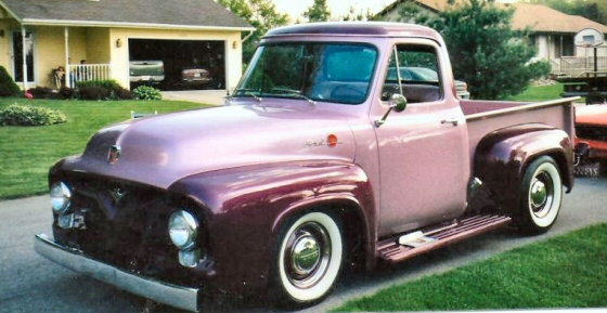 Photo of 1955 FORD SHOW TRUCK HALF TON PICKUP