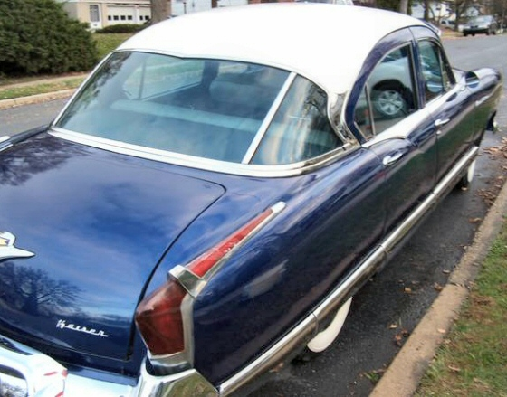 Photo of 1955 Kaiser Manhattan 4 DR Sedan Rotisserie Restored