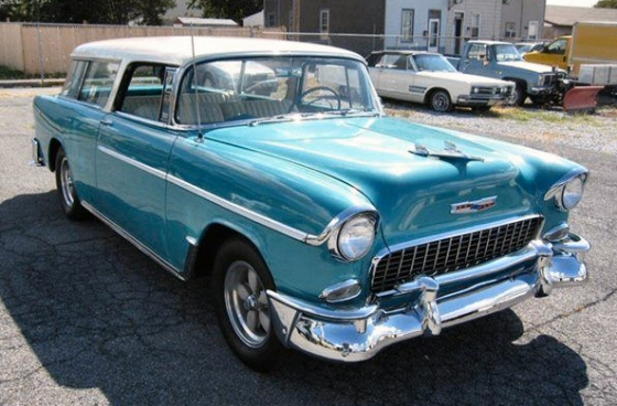 Photo of 1955 Chevrolet Nomad Station Wagon
