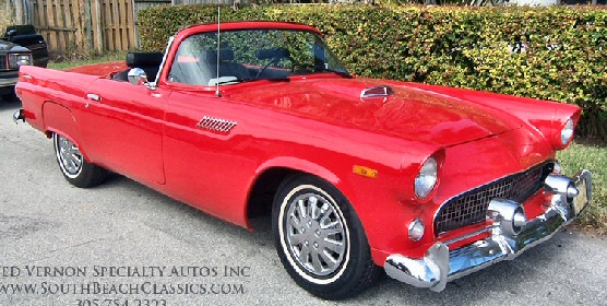 1955 Ford Thunderbird Shay Reproduction