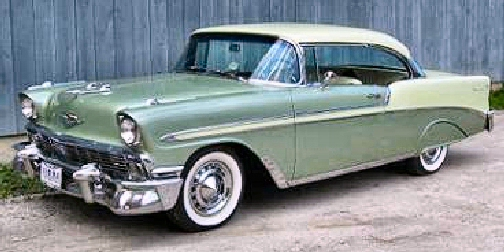 1956 CHEVY BELAIR 2 DR HARD TOP