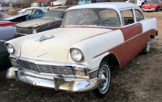 1956 chevy bel air 2 door sedan post for 1956 chevy belair 4 door for sale