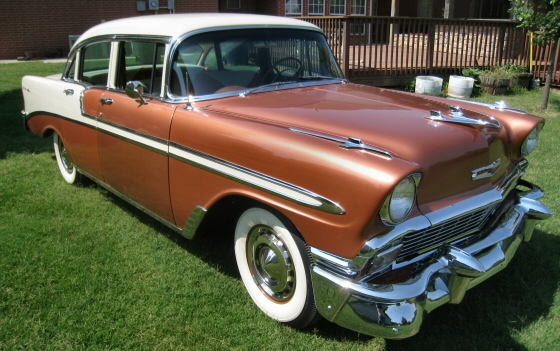 1956 chevy bel air 4 door sedan fully restored for 1956 chevy 4 door for sale