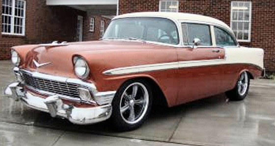 Photo of 1956 CHEVY BELAIR 2 DR POST STREET ROD