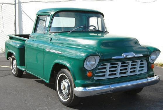 1956 chevrolet 3100 stepside pickup truck. Black Bedroom Furniture Sets. Home Design Ideas
