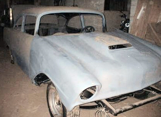 Photo of 1956 CHEVY BELAIR 2DR RESTO PROJECT