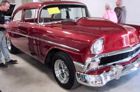 Photo of  1956 Chevy Belair 2DR Sedan