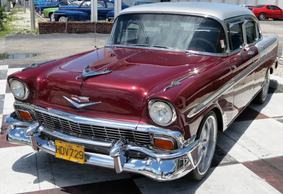 Photo of 1956 Chevrolet Bel Air 4 Door Sedan