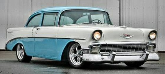 Photo of 1956 Chevy Belair 210 Coupe Street Rod