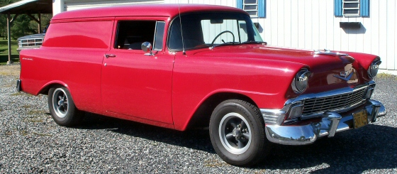 Photo of 1956 Chevy Sedan Delivery Street Rod