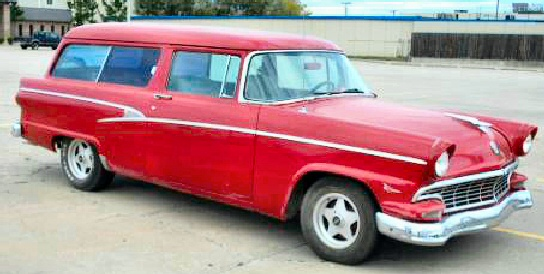 1956 FORD TWO DOOR RANCH WAGON