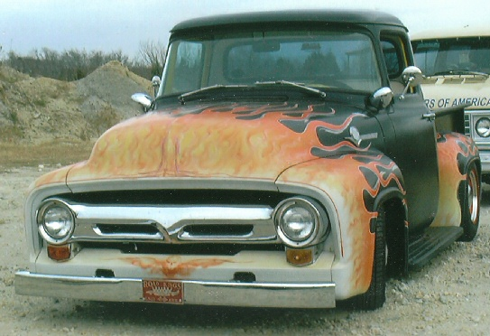 1956 Ford Pickup Street Rod