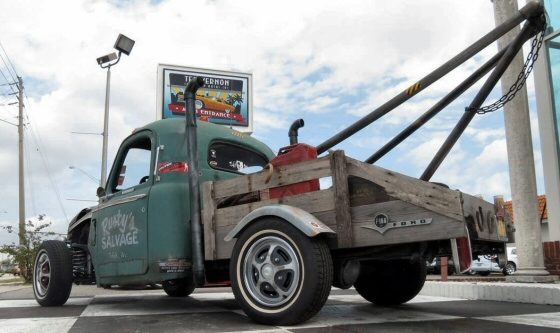 Photo of 1956 FORD RAT ROD PICK UP TOW TRUCK