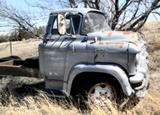 1956 GMC Cabover Truck Project