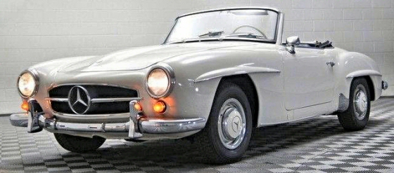 1956 mercedes benz 190sl roadster original survivor for 1956 mercedes benz 190sl