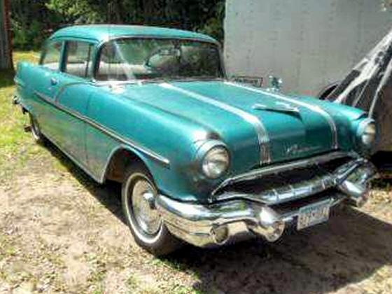 1956 pontiac 2 dr sedan
