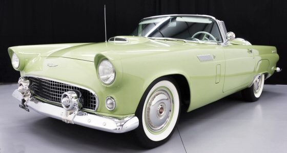 1956 Ford Thunderbird Roadster Restored By Dave Kindig