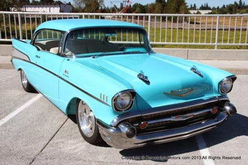 Photo of 1957 Chevrolet Bel Air 2 Door Hardtop Resto-Mod