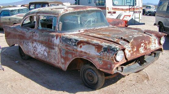 1957 Chevrolet Belair 2 Dr Post