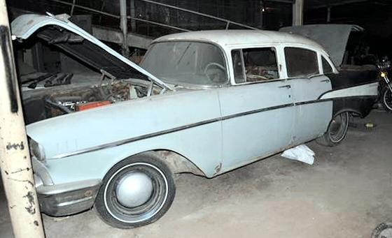 Photo of 1957 Chevrolet 210 4 Door Sedan Project Car