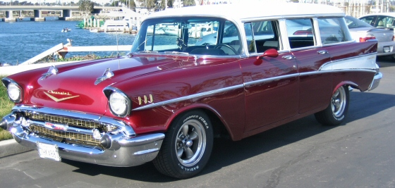 Photo of 1957 Chevy 210  4 DR Station Wagon Street Rod