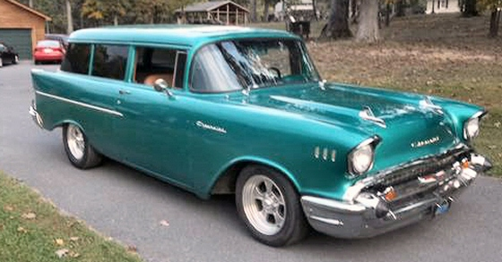 Photo of 1957 Chevy 2 DR Handy Wagon Street Rod