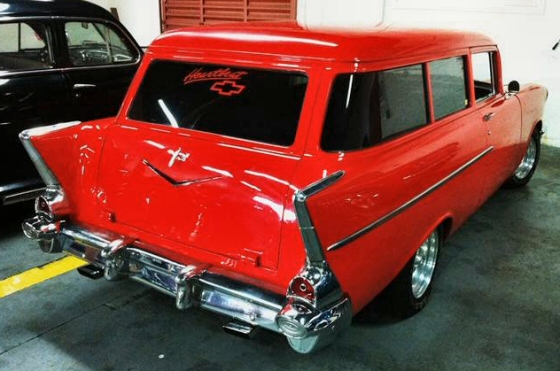 Photo of 1957 Chevrolet 2 DR Station Wagon
